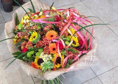 פרחים לקידום בעבודה